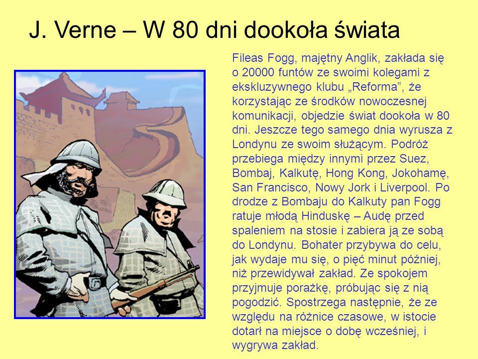 J. Verne – W 80 dni dookoła świata