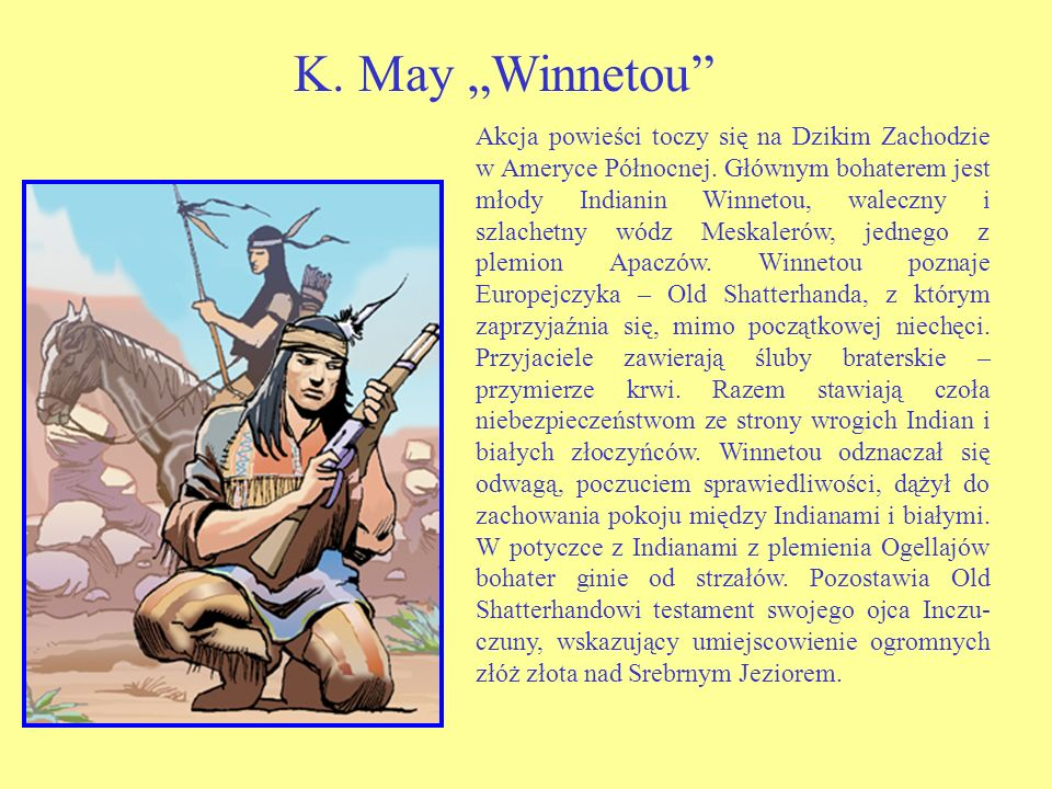 "K. May ""Winnetou"