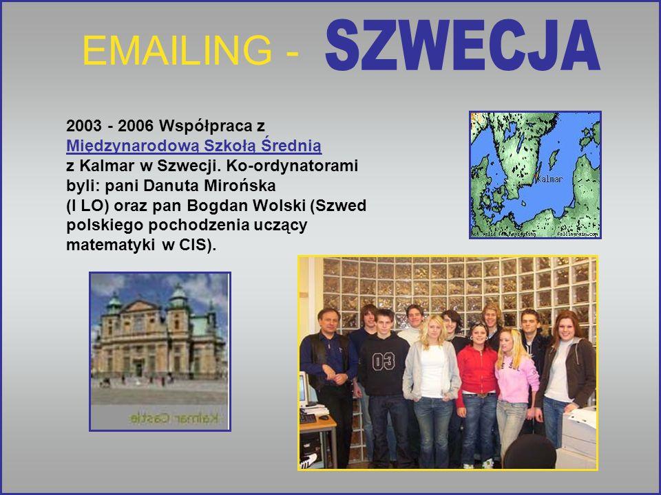 EMAILING - SZWECJA.