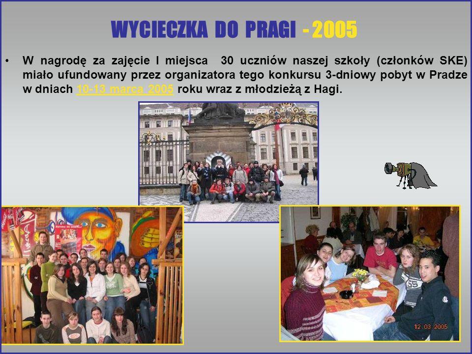 WYCIECZKA DO PRAGI - 2005