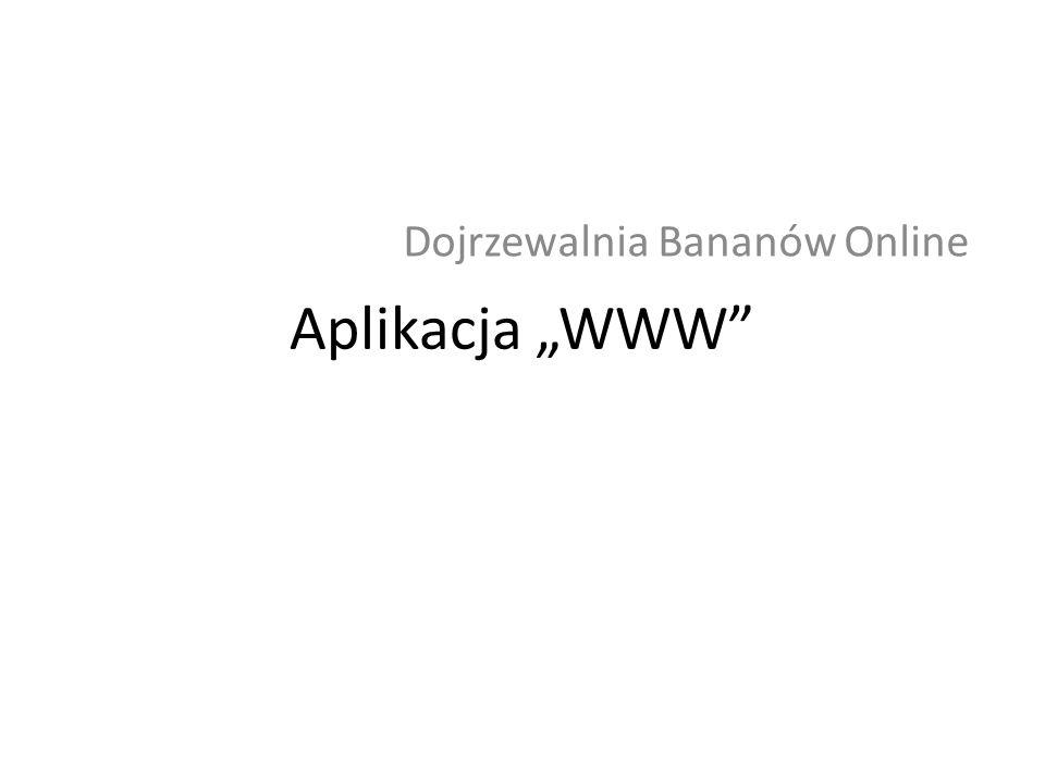 Dojrzewalnia Bananów Online