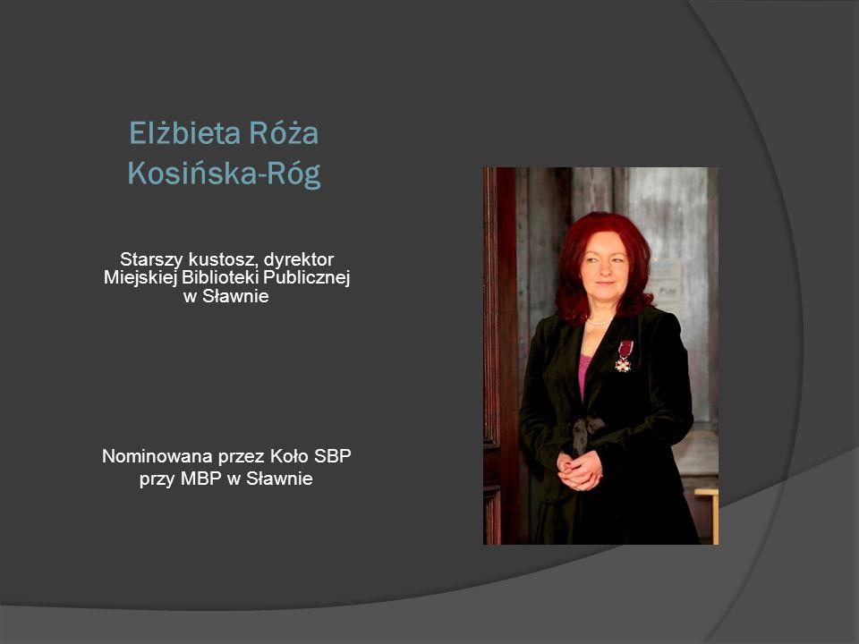 Elżbieta Róża Kosińska-Róg