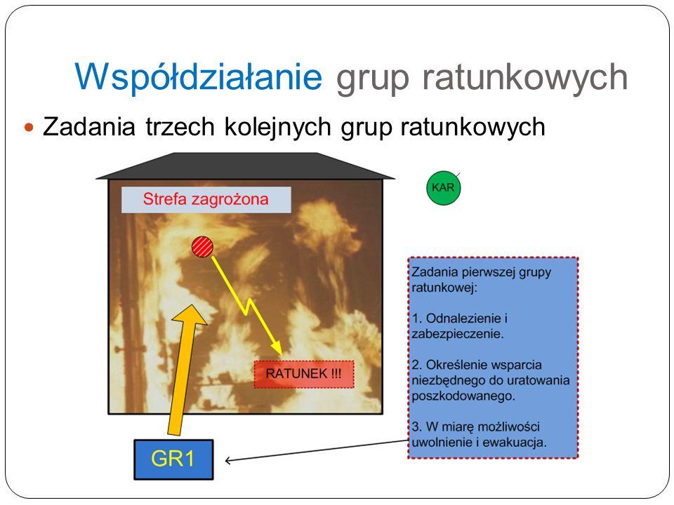 Współdziałanie grup ratunkowych