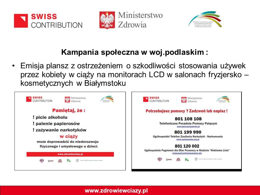 Kampania społeczna w woj.podlaskim :