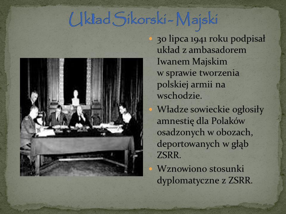 Układ Sikorski - Majski