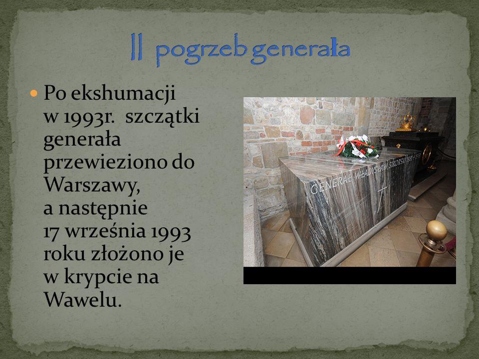 II pogrzeb generała