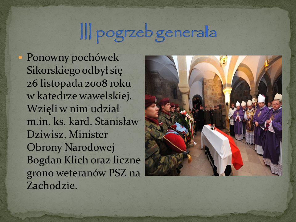 III pogrzeb generała