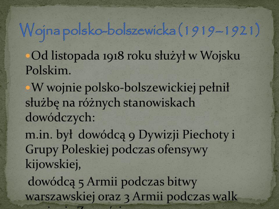 Wojna polsko-bolszewicka (1919–1921)