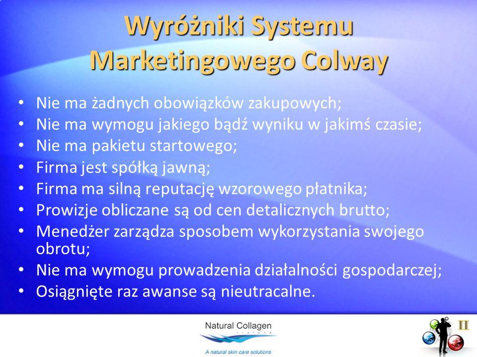 Wyróżniki Systemu Marketingowego Colway