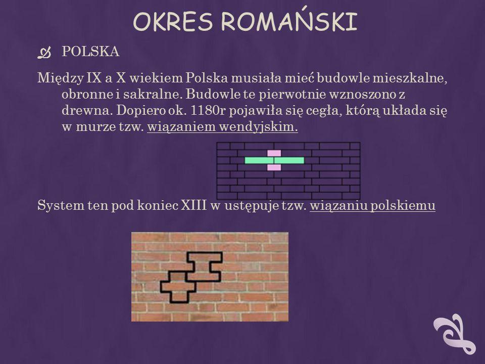 OKRES ROMAŃSKI POLSKA.