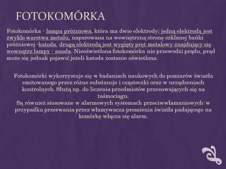 FOTOKOMÓRKA