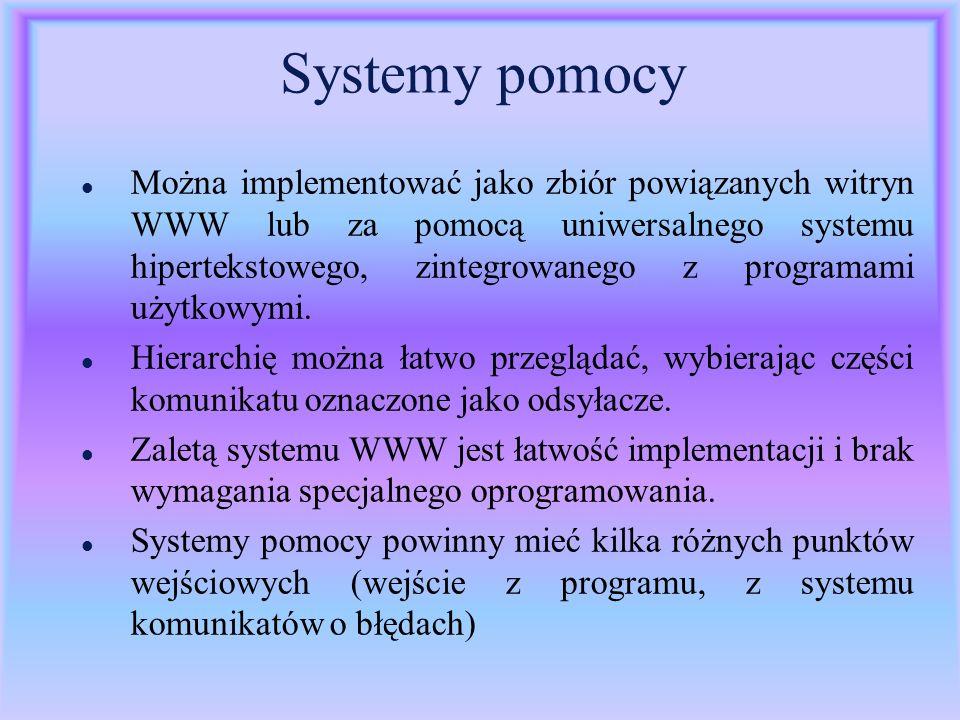 Systemy pomocy