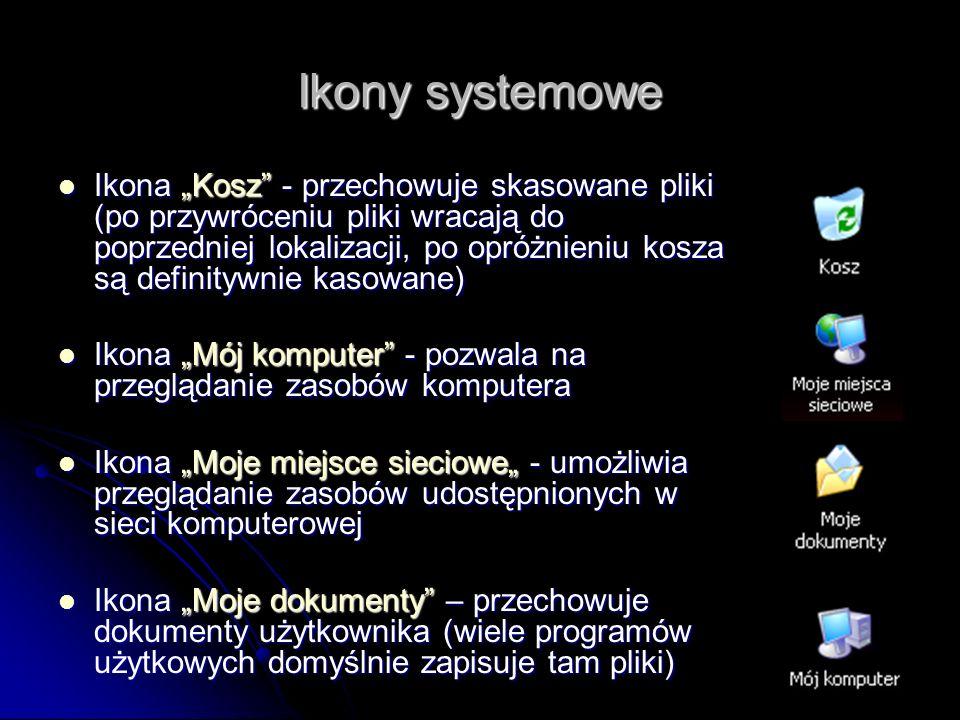 Ikony systemowe