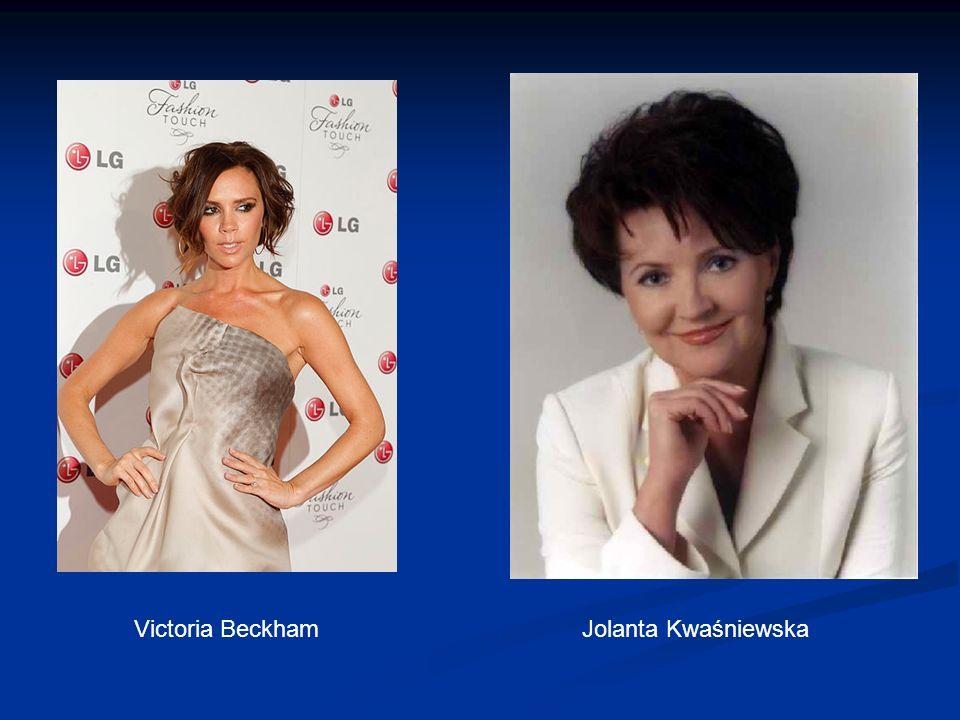 Victoria Beckham Jolanta Kwaśniewska