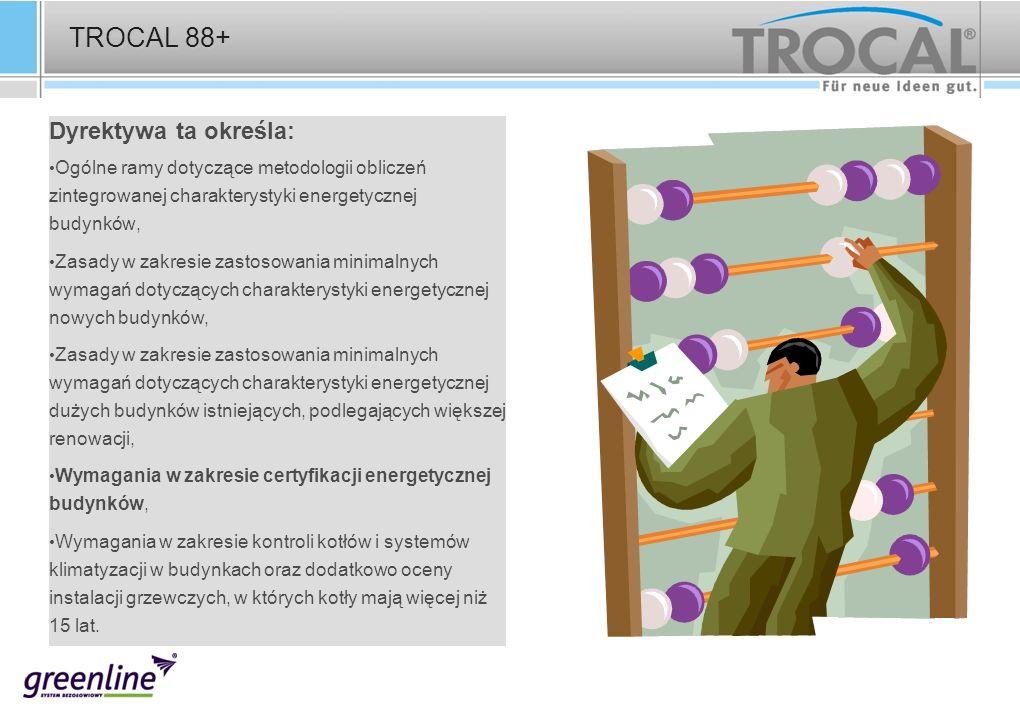 TROCAL 88+ Dyrektywa ta określa: