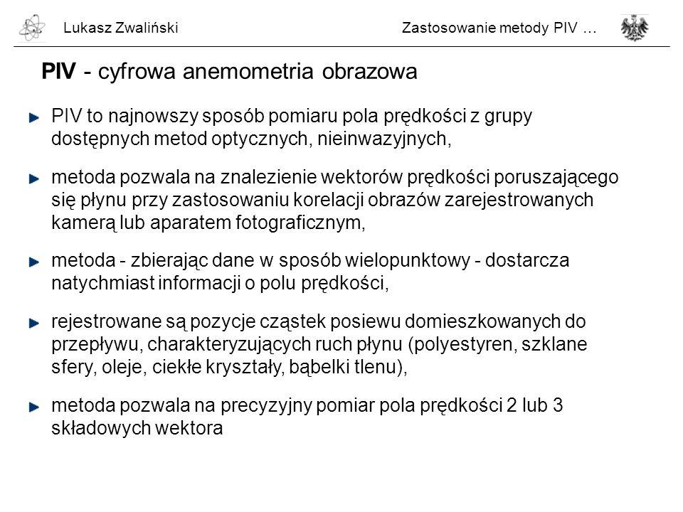 PIV - cyfrowa anemometria obrazowa