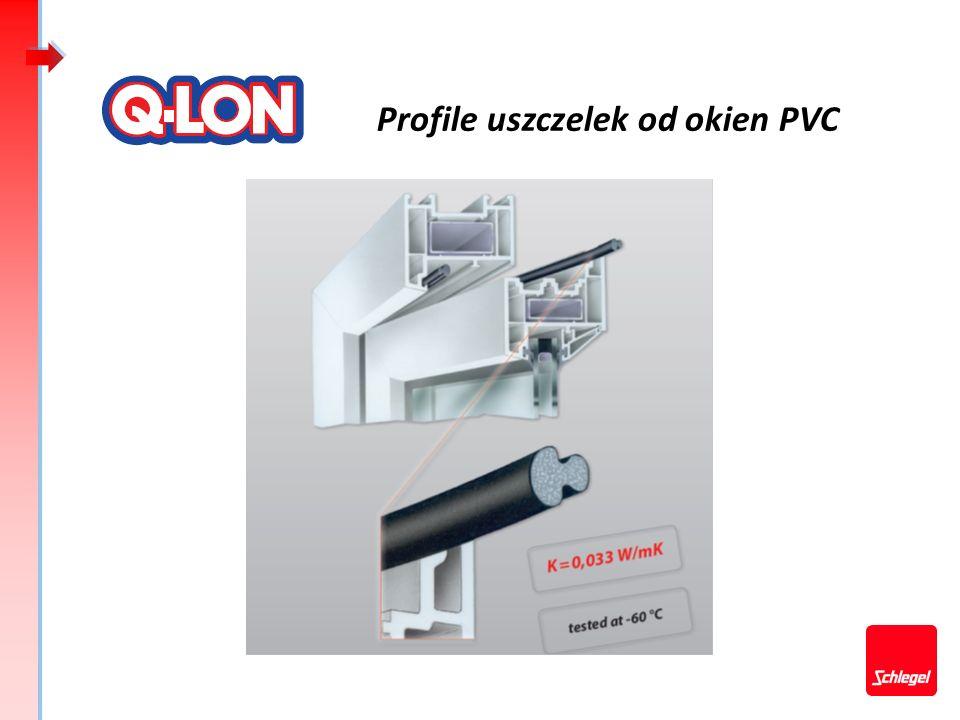 Profile uszczelek od okien PVC