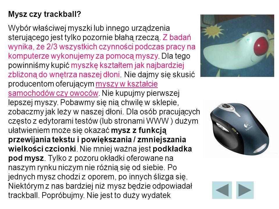 Mysz czy trackball