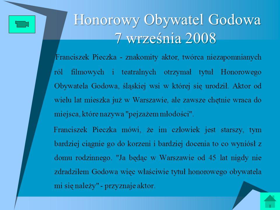 Honorowy Obywatel Godowa