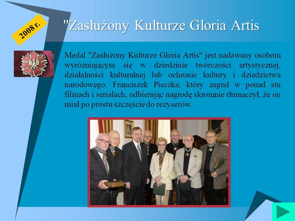 Zasłużony Kulturze Gloria Artis