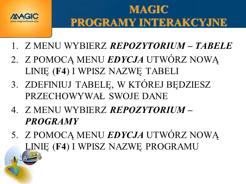 MAGIC PROGRAMY INTERAKCYJNE