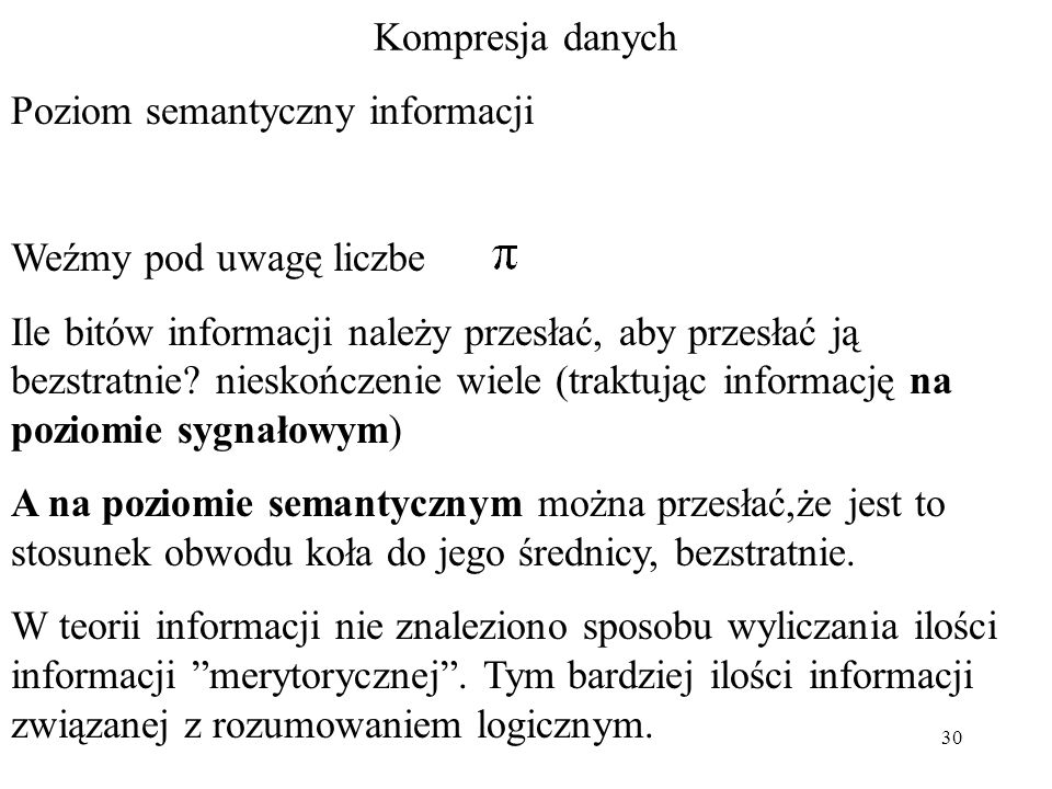 Poziom semantyczny informacji