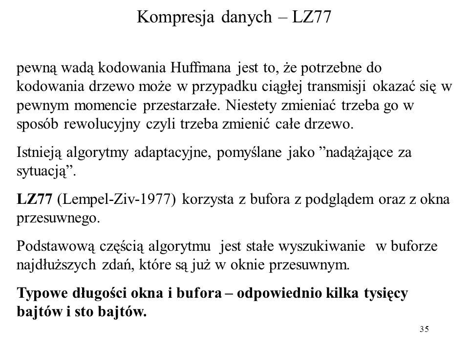 Kompresja danych – LZ77
