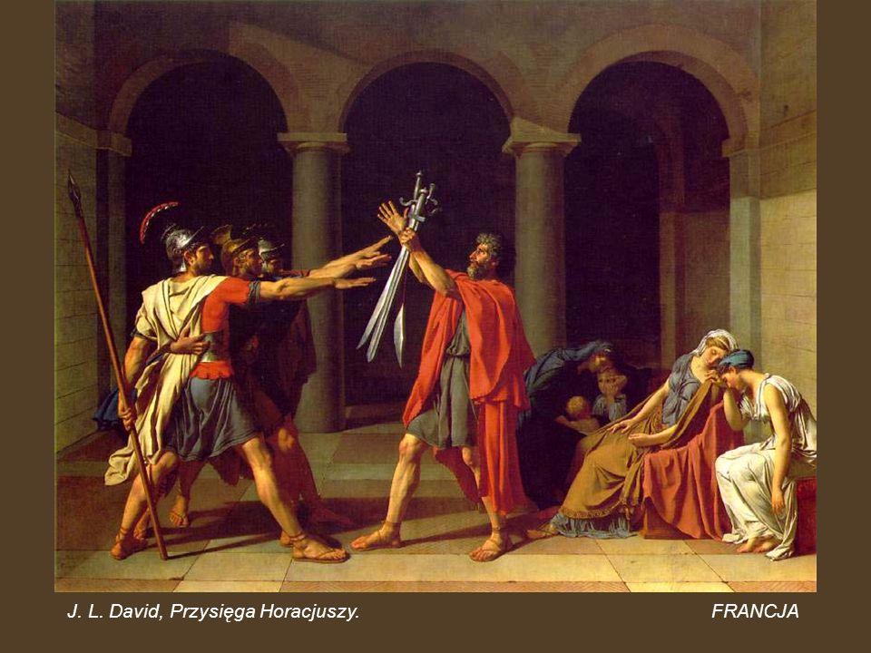 J. L. David, Przysięga Horacjuszy.