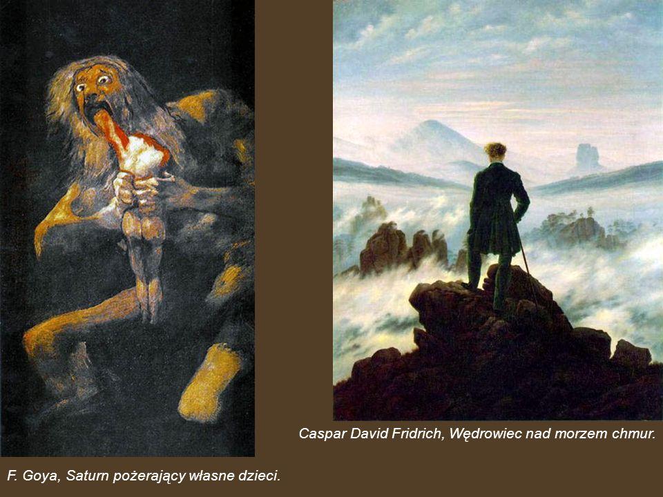 Caspar David Fridrich, Wędrowiec nad morzem chmur.