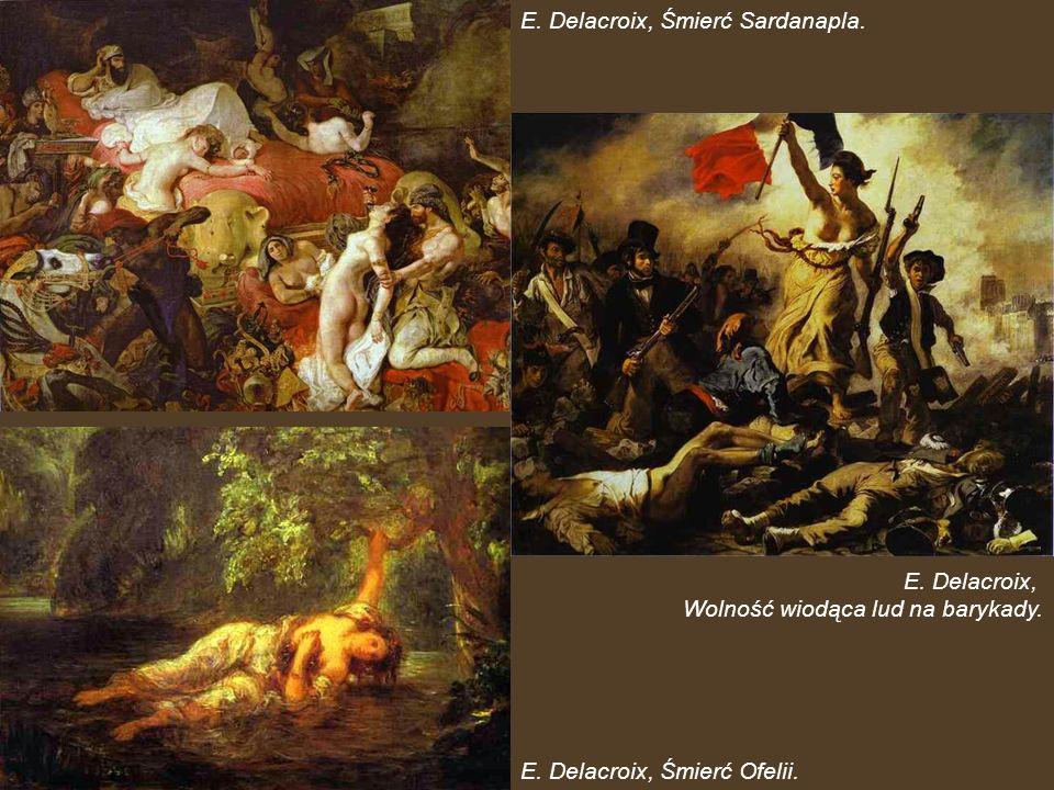 E. Delacroix, Śmierć Sardanapla.
