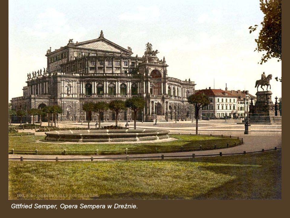 Gttfried Semper, Opera Sempera w Dreźnie.