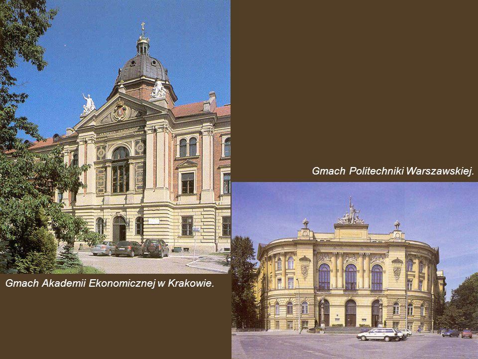 Gmach Politechniki Warszawskiej.
