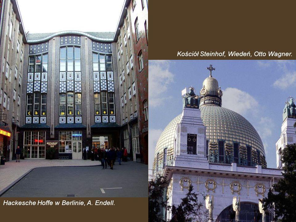 Kościół Steinhof, Wiedeń, Otto Wagner.