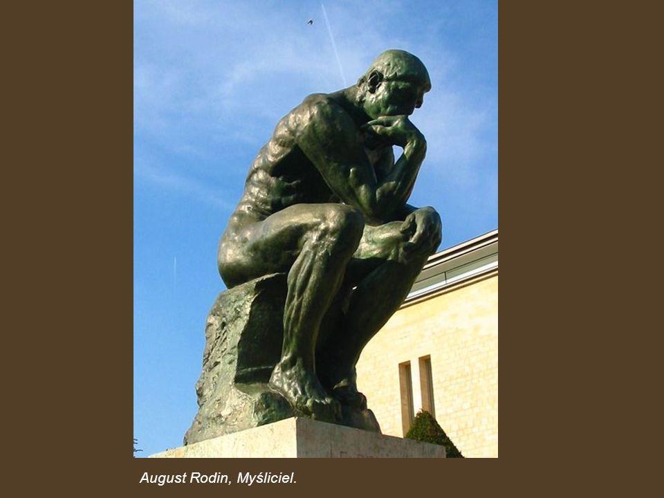 August Rodin, Myśliciel.