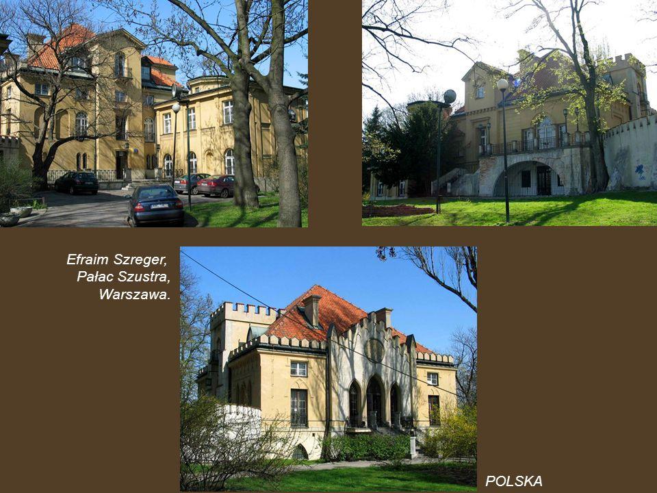 Efraim Szreger, Pałac Szustra, Warszawa. POLSKA