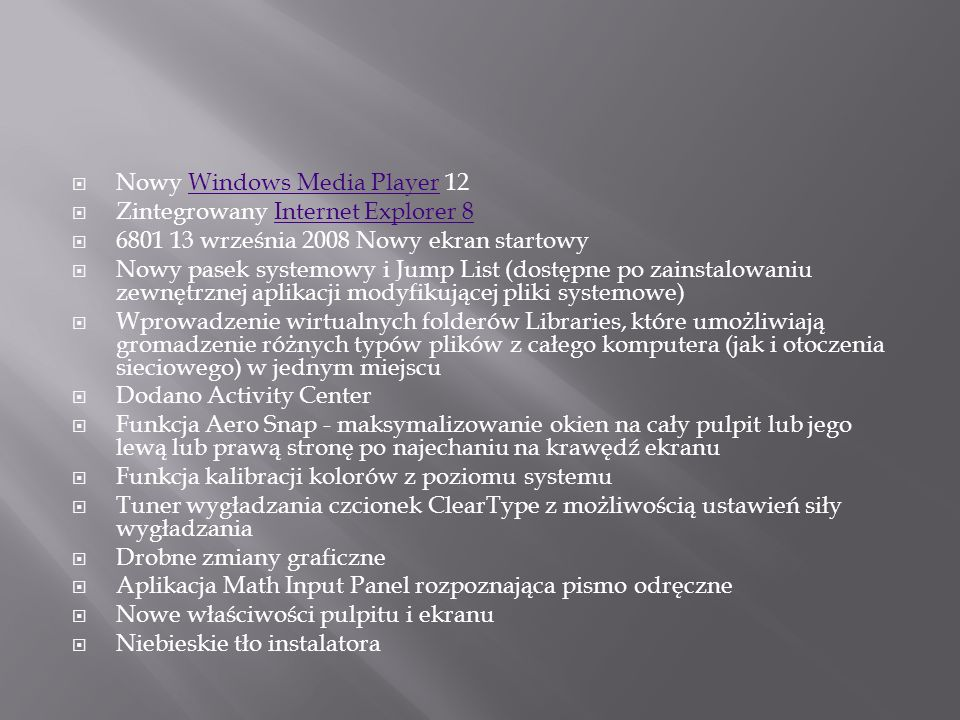 Nowy Windows Media Player 12