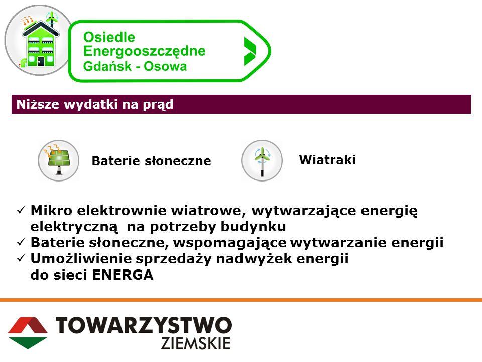 Baterie słoneczne, wspomagające wytwarzanie energii