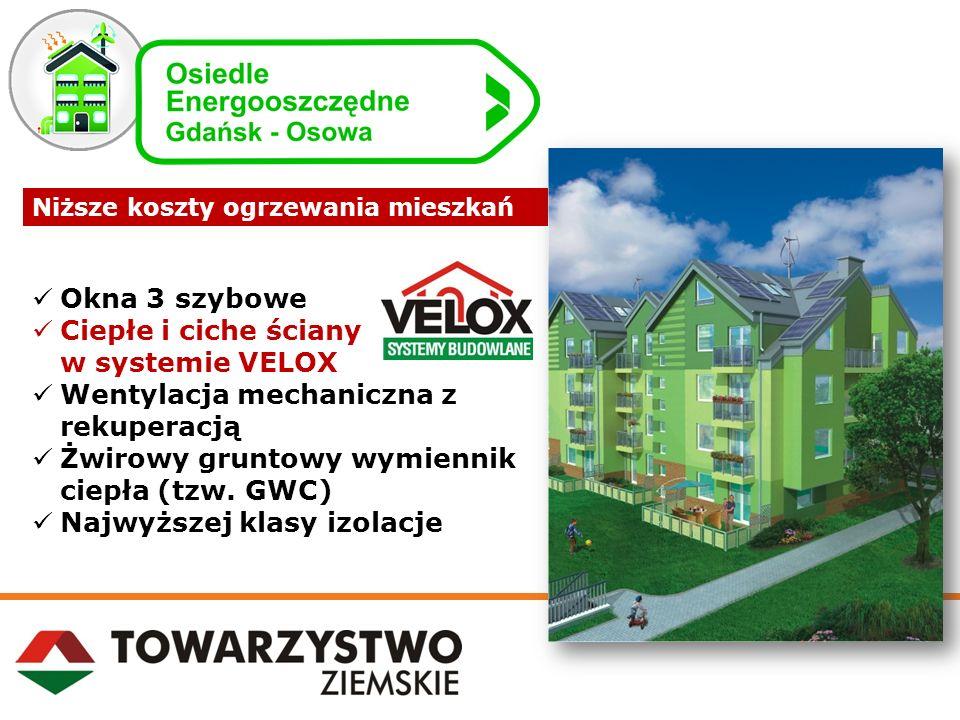 Ciepłe i ciche ściany w systemie VELOX