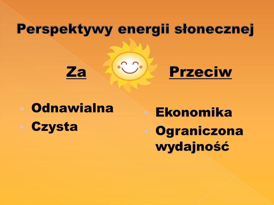 Perspektywy energii słonecznej