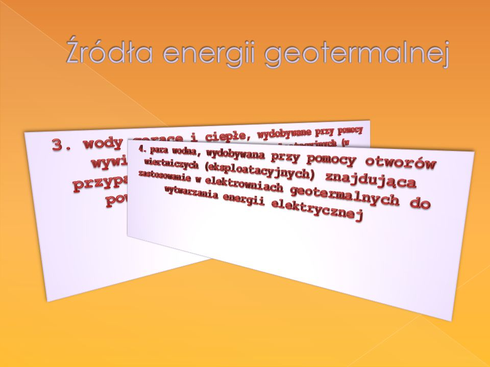Źródła energii geotermalnej