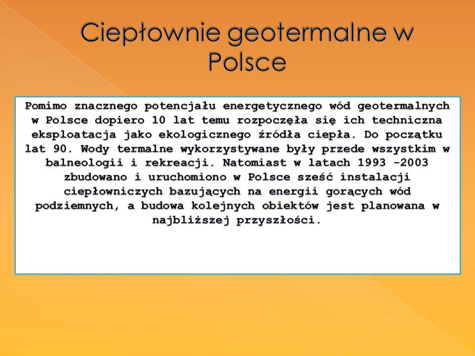 Ciepłownie geotermalne w Polsce