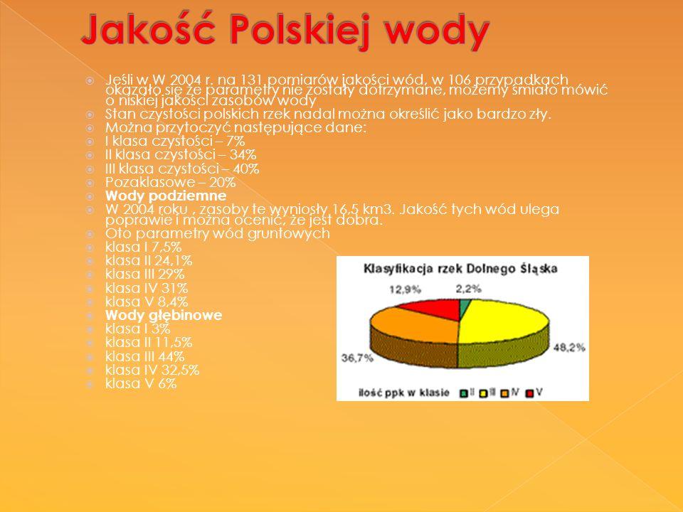 Jakość Polskiej wody