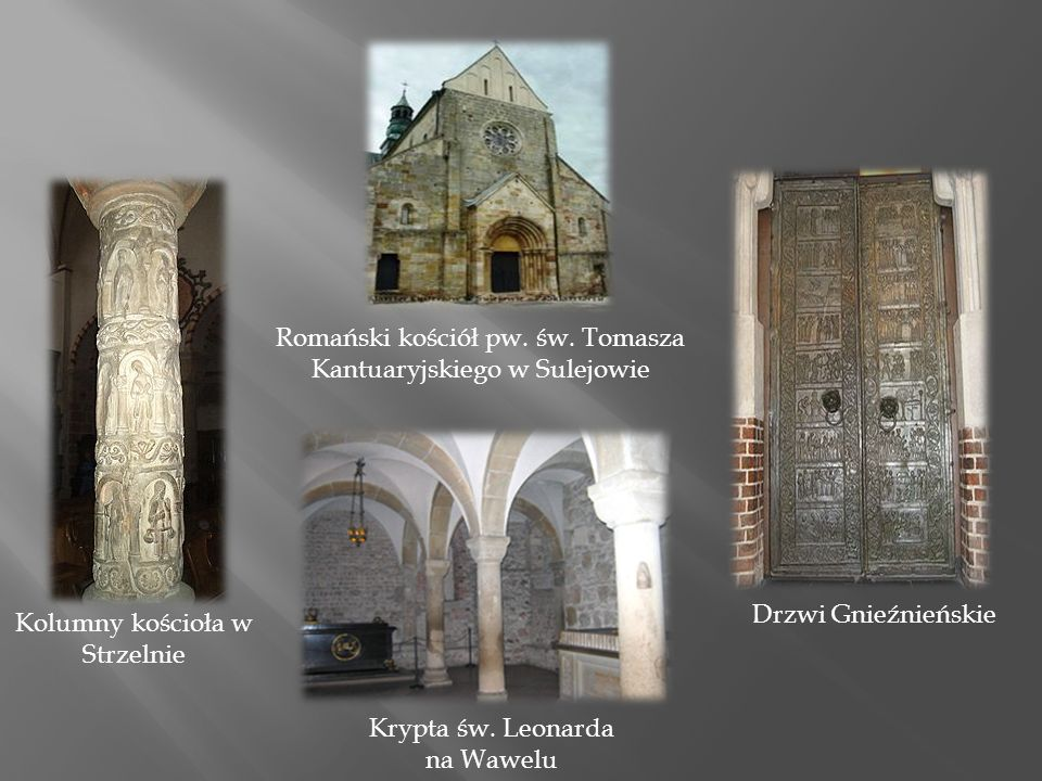 Romański kościół pw. św. Tomasza Kantuaryjskiego w Sulejowie