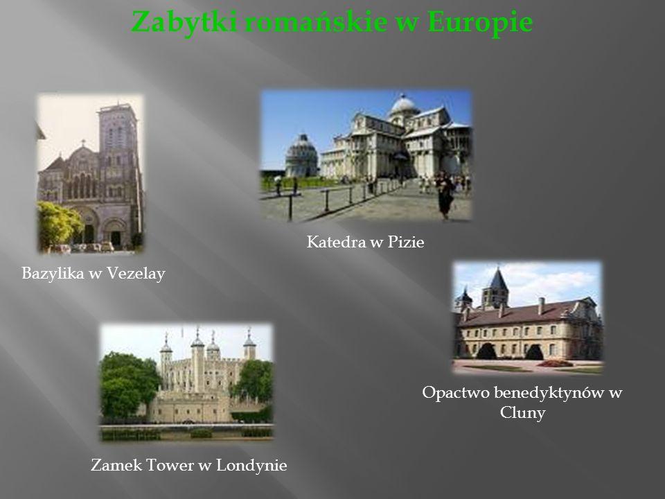 Zabytki romańskie w Europie
