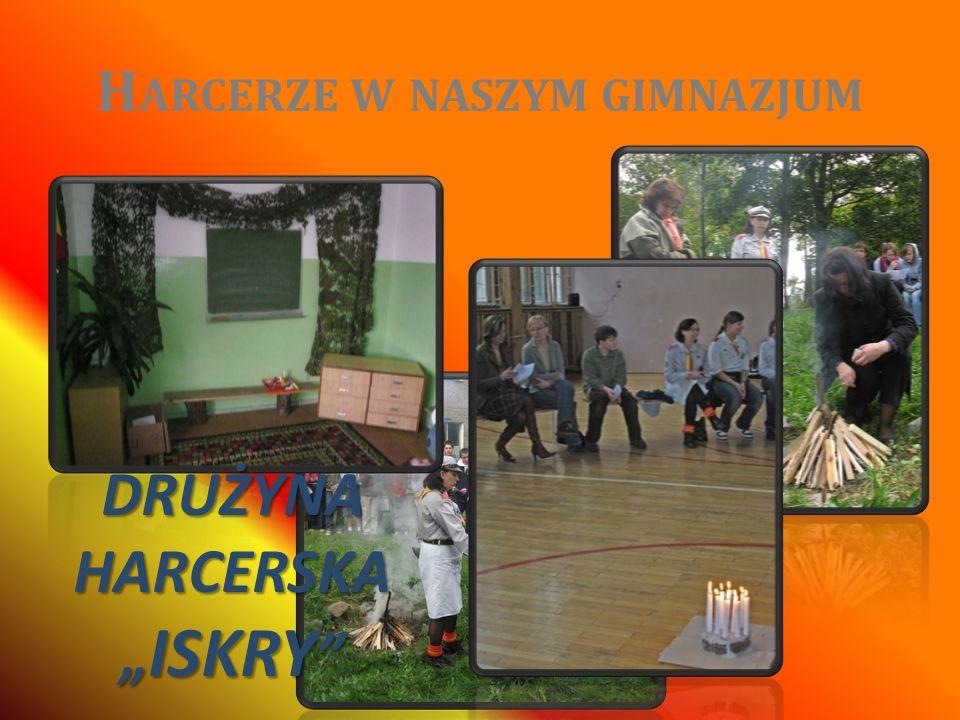 Harcerze w naszym gimnazjum