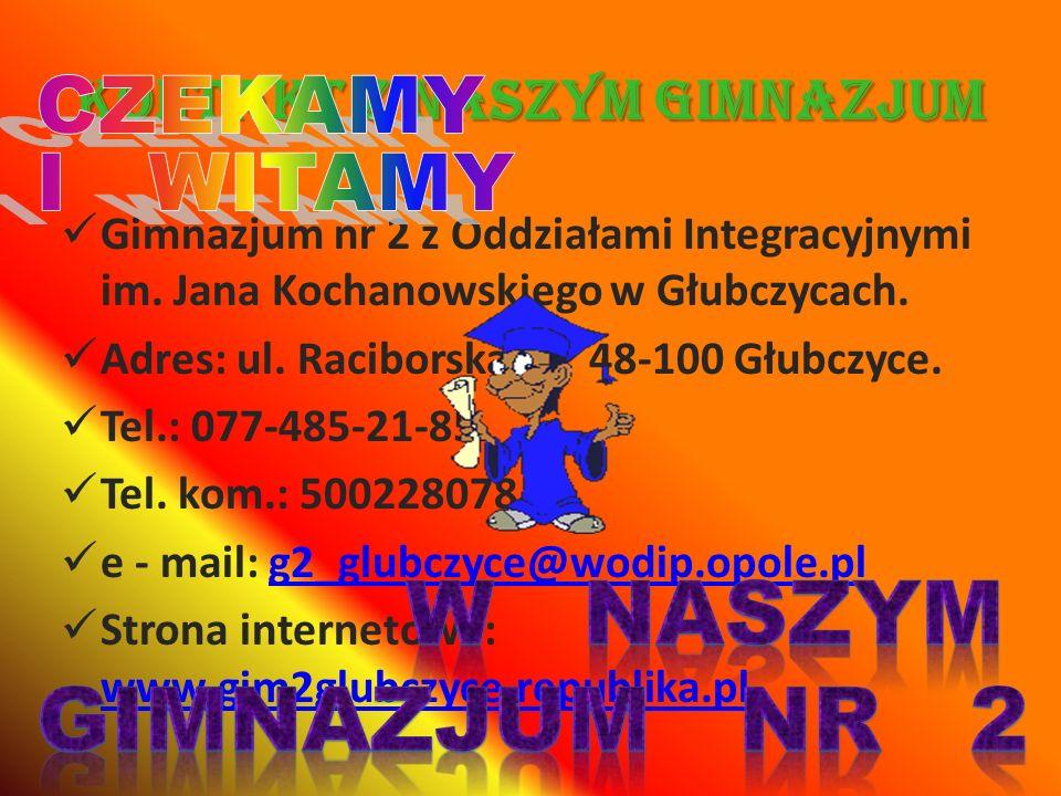 Kontakt z naszym Gimnazjum