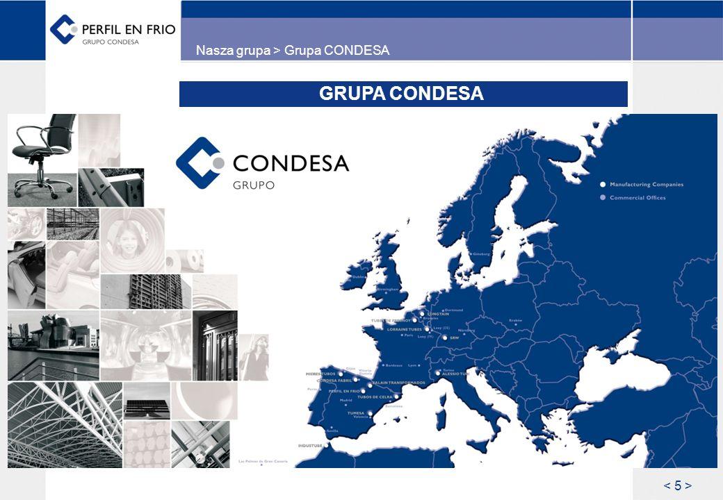 Nasza grupa > Grupa CONDESA