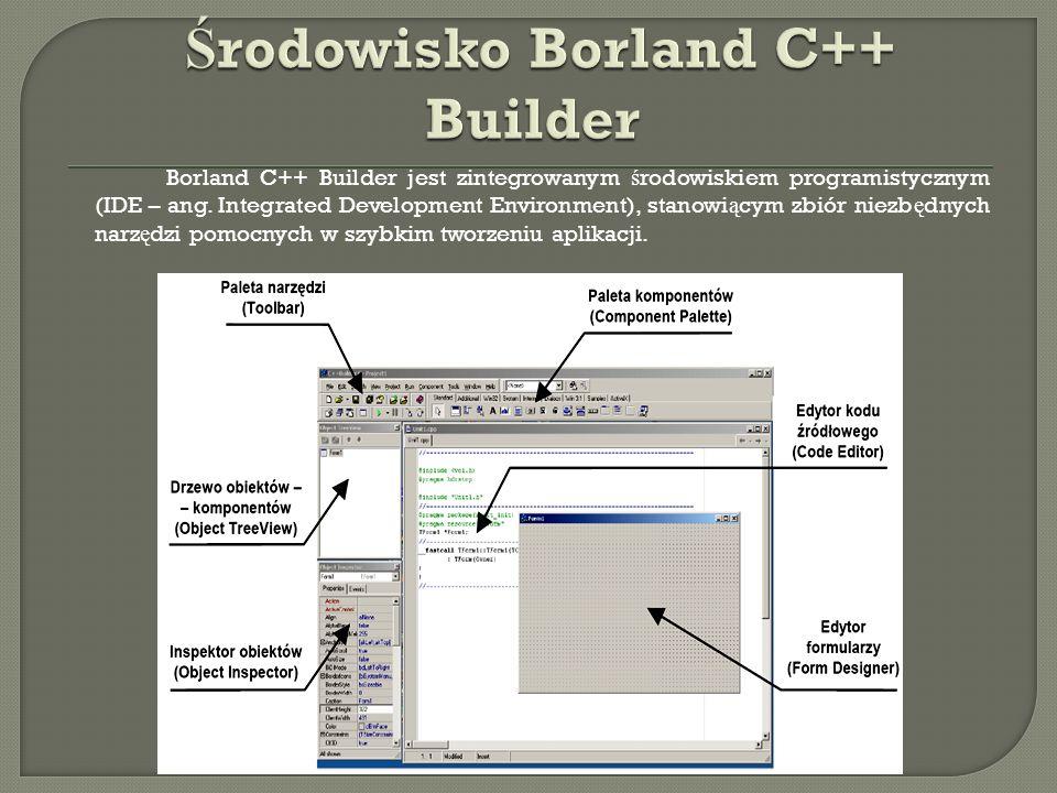 Środowisko Borland C++ Builder