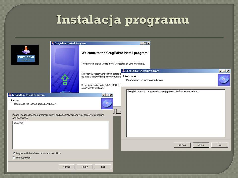 Instalacja programu