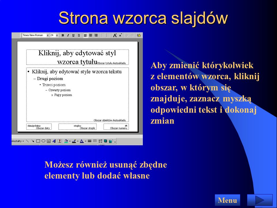 Strona wzorca slajdów